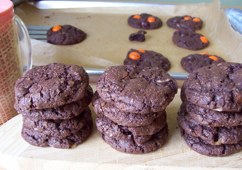 Gluten Free Black Sorghum Chocolate Cookies