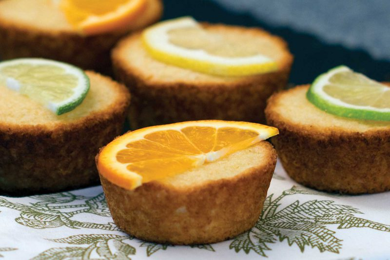 Gluten Free Citrus Tea Cakes
