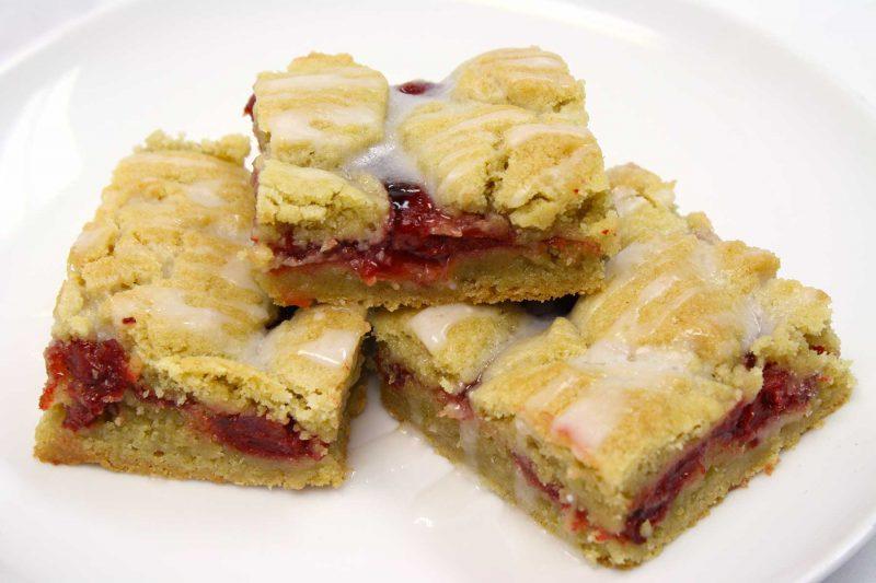 Gluten Free Cherry Pie Bars