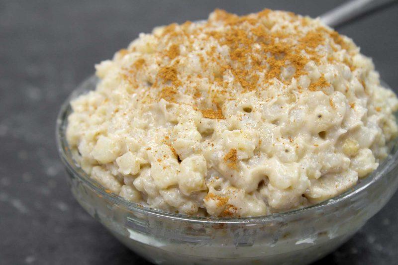 Gluten Free Pearled Sorghum Grain Pudding