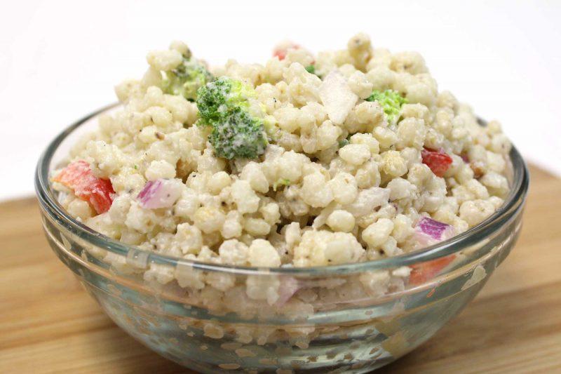 Gluten Free Pearled Sorghum Grain Summer Salad
