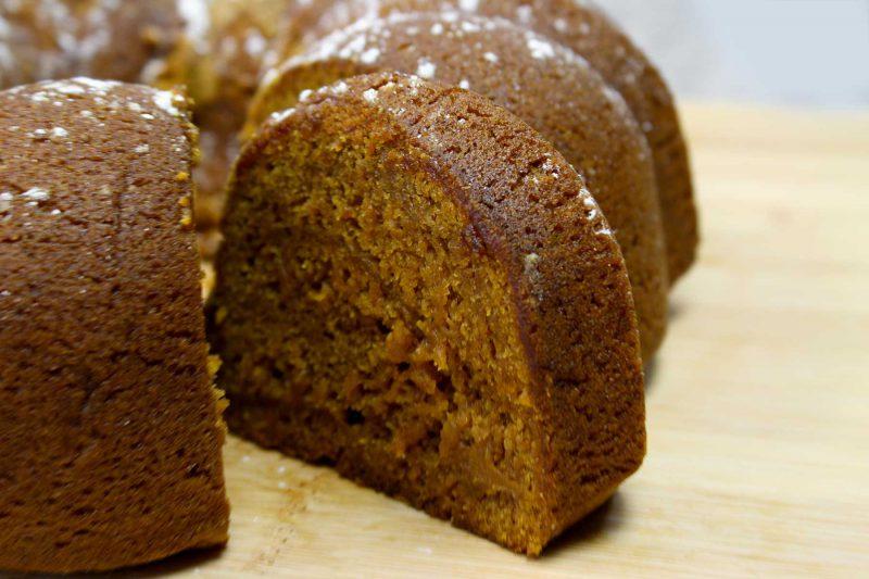 Gluten Free Pumpkin Bundt Cake