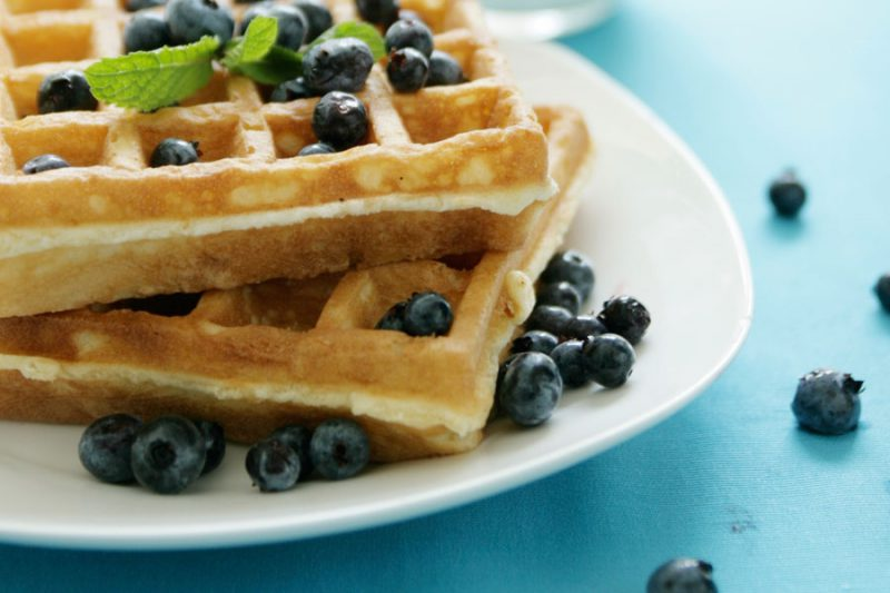 Gluten Free Sorghum Waffles