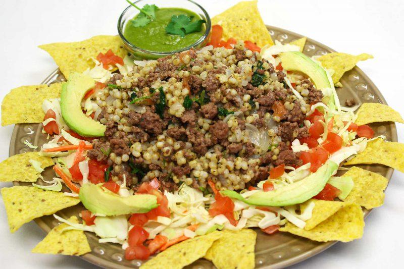 Gluten Free Sorghum Taco Salad Recipe