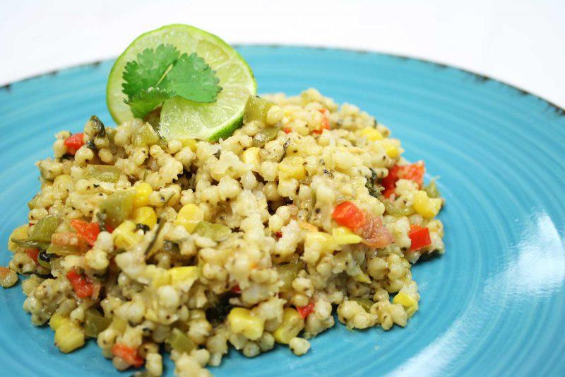 Gluten Free Vegetarian Sorghum Pilaf