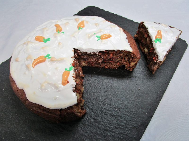 Gluten Free Pineapple Carrot Cake