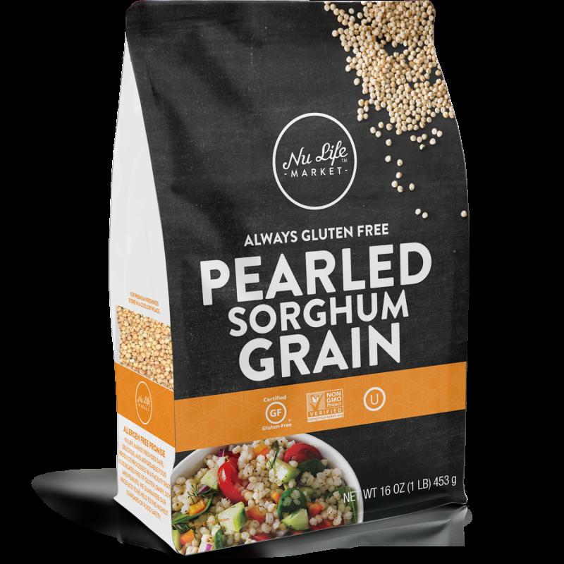 Gluten Free Pearled Sorghum Grain
