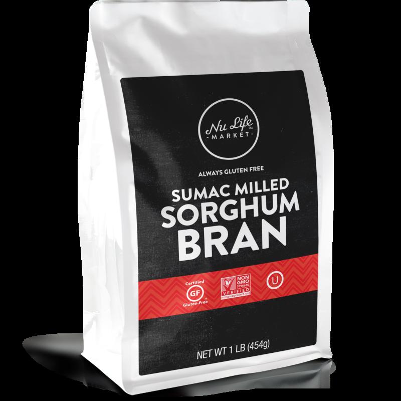 Gluten Free Sumac Milled Sorghum Bran
