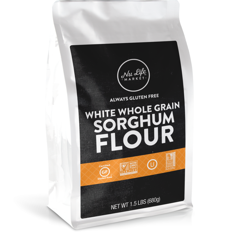 Gluten Free White Whole Grain Sorghum Flour