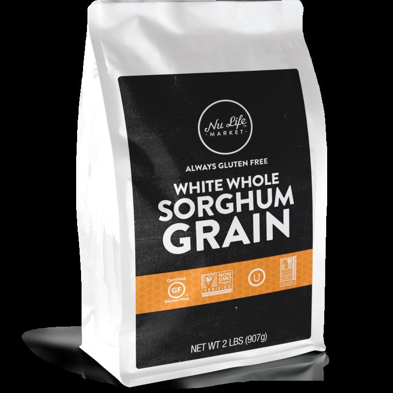 Gluten Free White Whole Sorghum Grain