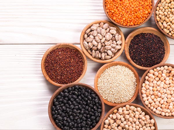 Beans, Grains and Lentils